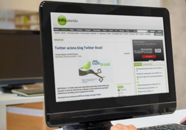 Saiu na Info: Twitter aciona blog Twitter Brasil