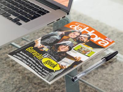 Entrevista sobre Cultura Geek para a Revista Da Hora