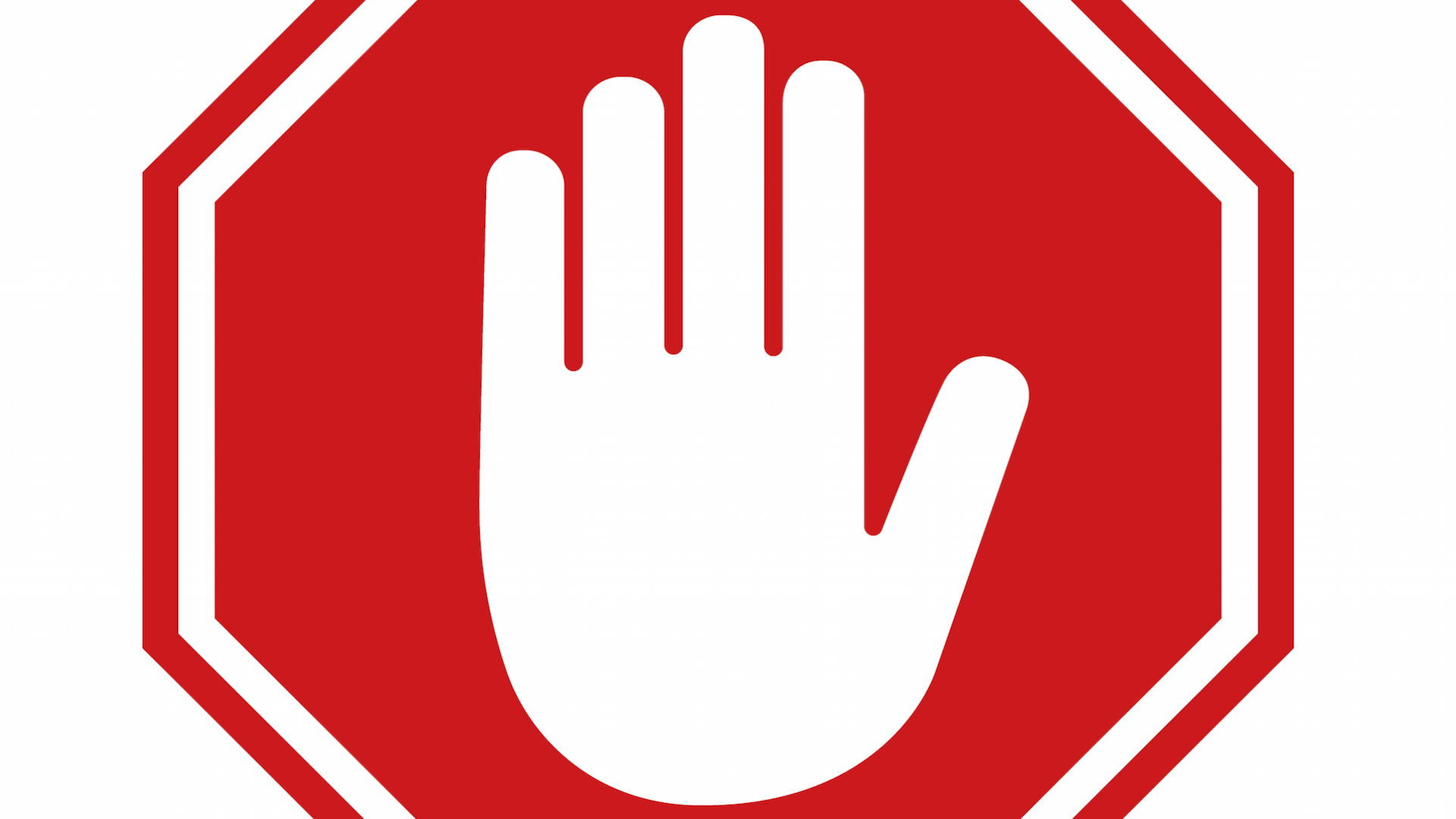 Logomarca do bloqueador de anúncios AdBlock