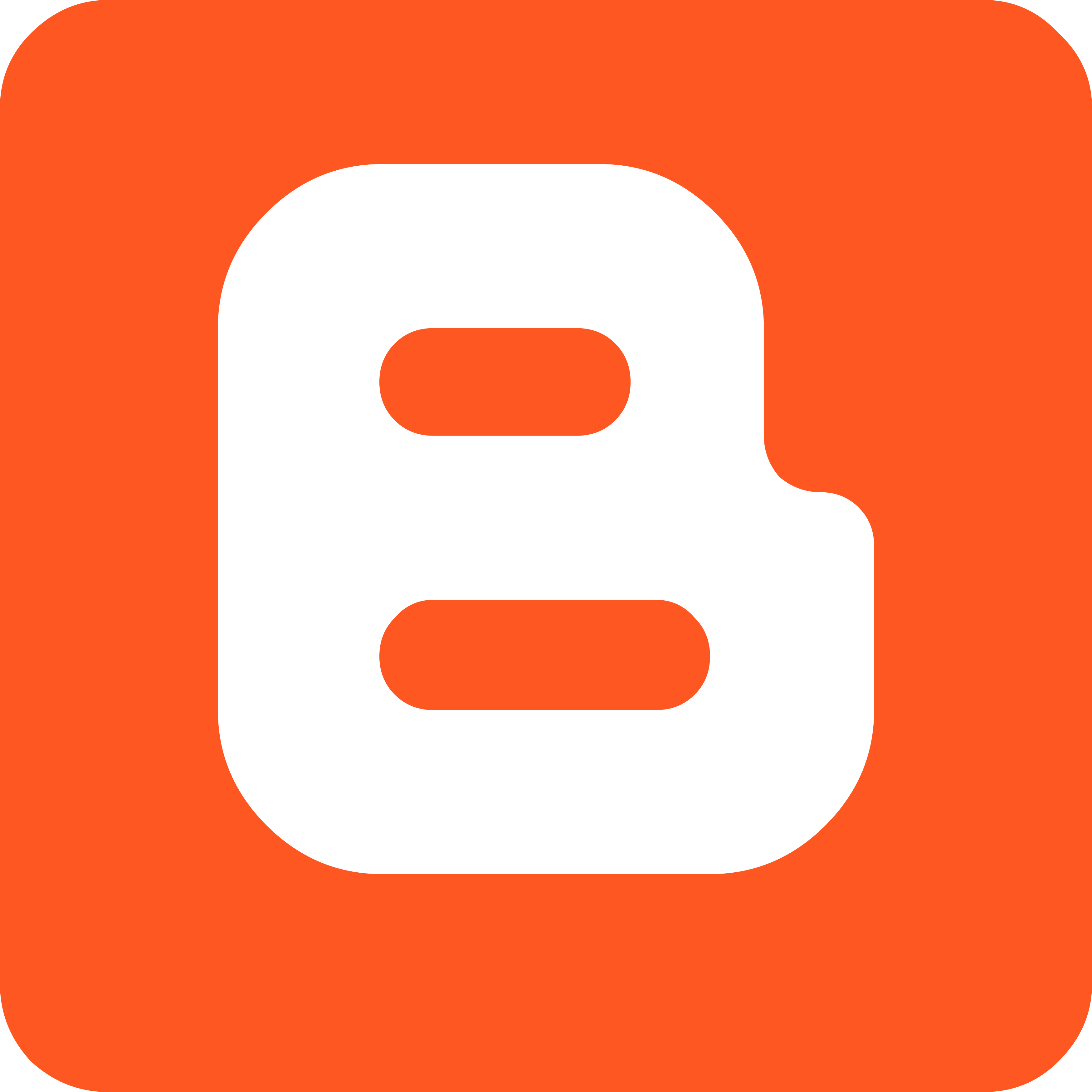 Logomarca da ferramenta Blogger