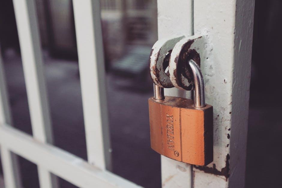 Imagem de cadeado simbolizando a conta privada