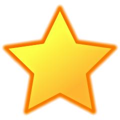 Estrela representando a função Favoritos