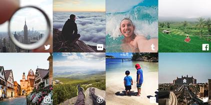 Imagens de conteúdos gerados por usuários (UGC)