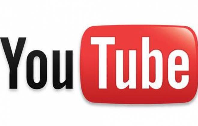 Logomarca do YouTube, uma plataforma de compartilhamento de vídeos criada em fevereiro de 2005