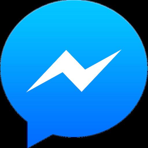 Logomarca do Facebook Messenger