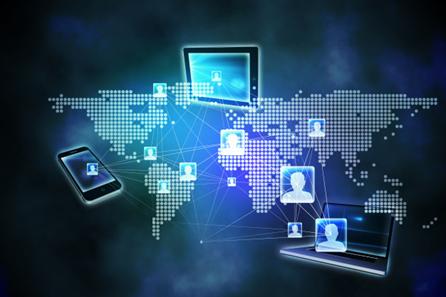 Imagem ilustrativa de web, a rede mundial de computadores