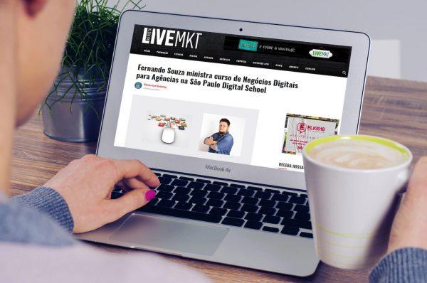 Matéria – Curso de Negócios Digitais para Agências – Revista Live Marketing