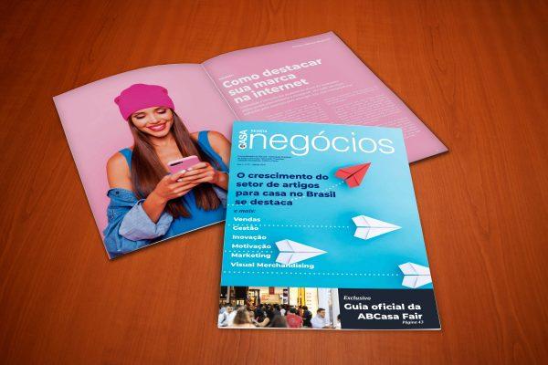 Matéria – Como destacar sua marca na internet – Revista ABCasa Negócios ed 1